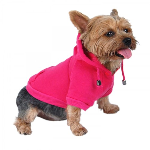 Dog Pullover Hoodie – Pink