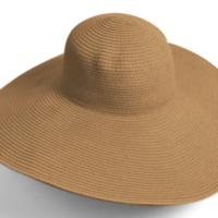 Straw Hat - Light Brown