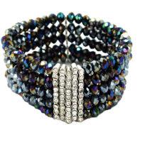 Multicolored Crystal Bracelet