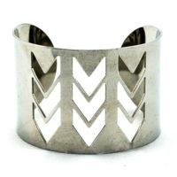 Arrow Cut Out Cuff Bracelet