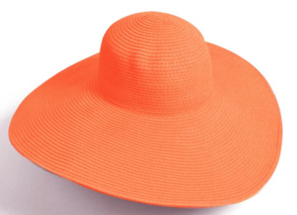 Straw Hat - Turquoise