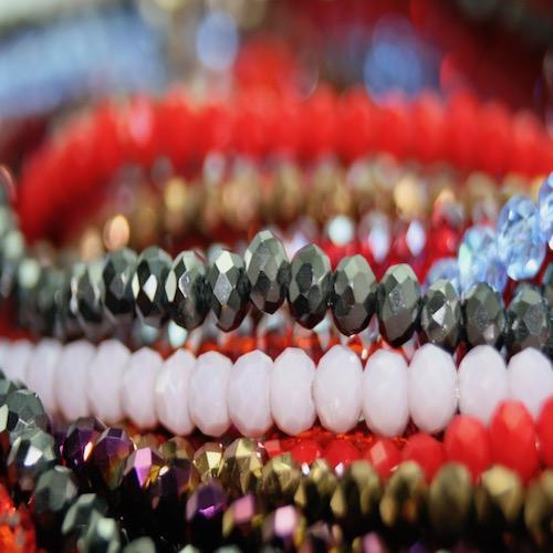 Crystal Elastic Necklaces