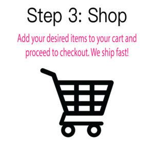 Step 3: Shop